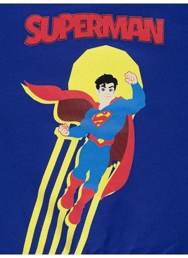 Superman Erkek Çocuk Sweatshirt  Saks